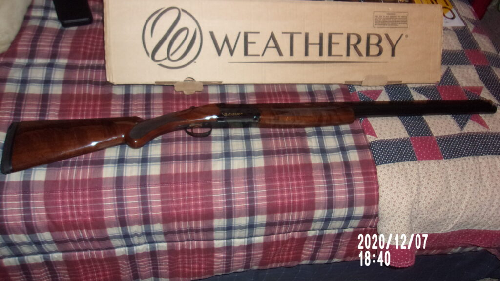 Weatherby Shotgun